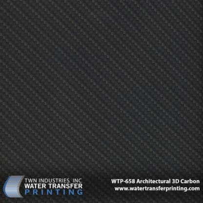 WTP-658 Architectural 3D Carbon Hydrographic Film