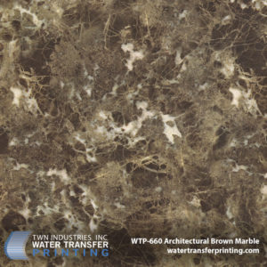 Brown Marble Hydro Dipping Film