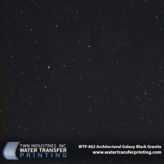 WTP-662 Architectural Galaxy Black Granite Hydrographic Film