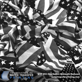 WTP-893 One Nation Midnight Reduced Hydro Dip Film