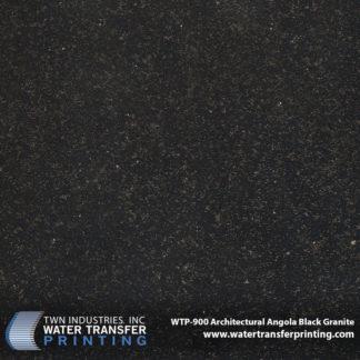 WTP-900 Architectural Angola Black Granite Hydrographic Film