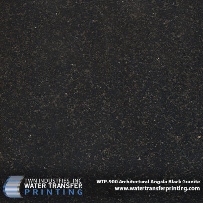 WTP-900 Architectural Angola Black Granite Hydrographic Film