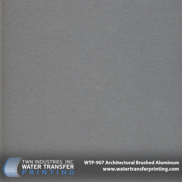 WTP-907 Architectural Brushed Aluminum Hydrographic Film