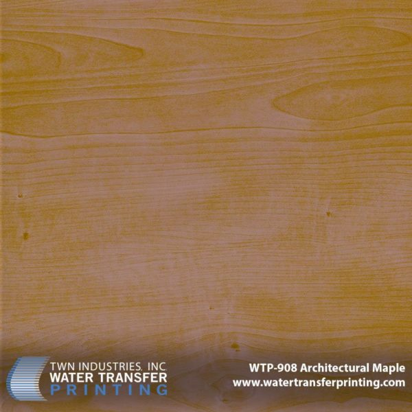 WTP-908 Architectural Maple Hydrographic Film