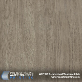 WTP-909 Architectural Weathered Oak Hydro Dip Film