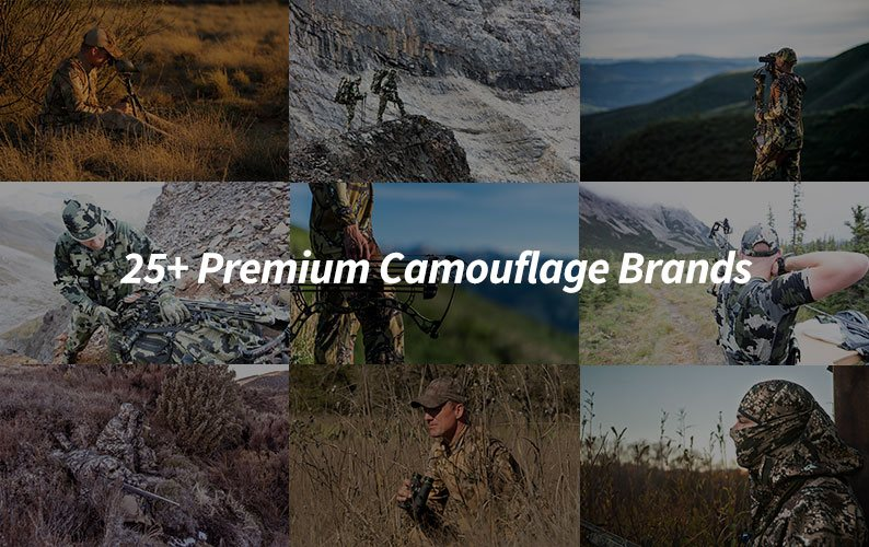 Camouflage Hydrographic Film Brands