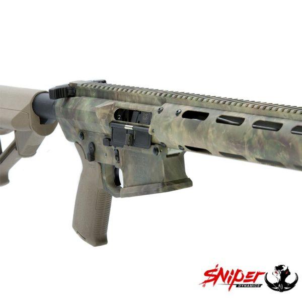 StalkLand Camouflage Rifle Closeup