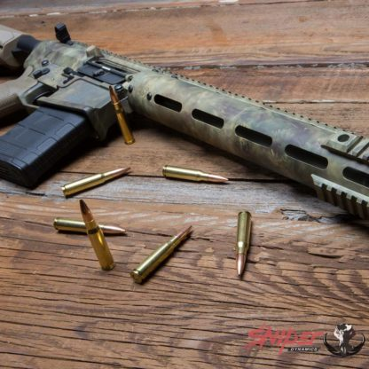 StalkLand Camouflage Rifle with Ammo