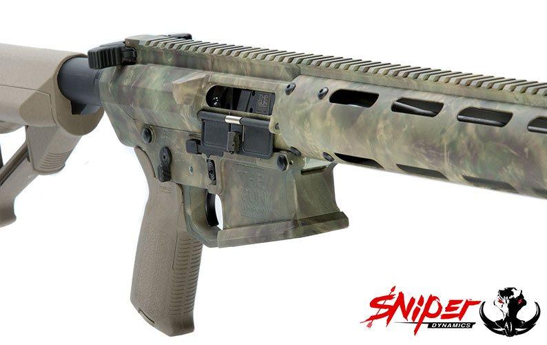 StalkLand Hydro Dipped Gun Closeup
