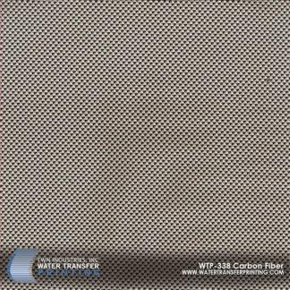 WTP-338 Carbon Fiber Hydrographic Film
