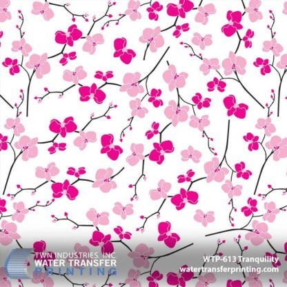 WTP-613 Cherry Blossom Hydrographic Film