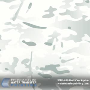 MultiCam Alpine Hydrographic Film