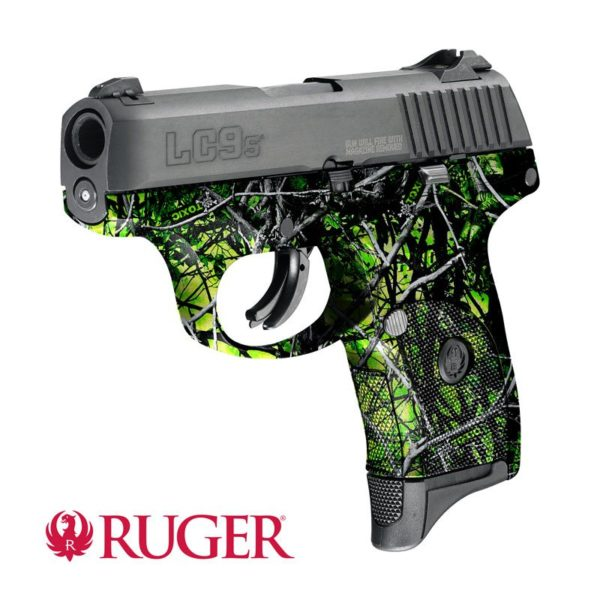 Ruger® LC9s® pistol dipped in WTP-921 Toxic® Reduced