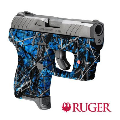 Ruger® LCP® II pistol with Viridian® E-Series™ red laser dipped in WTP-922 Undertow® Reduced