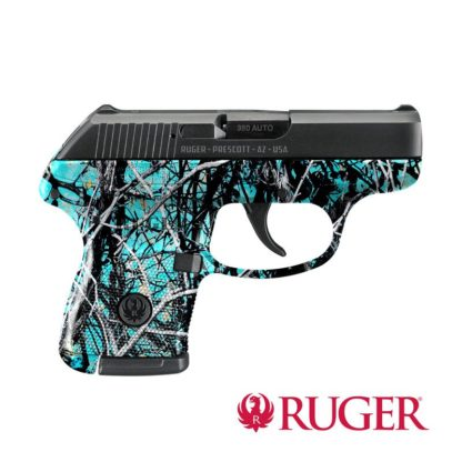 Ruger® LCP® pistol dipped in WTP-923 Muddy Girl® Serenity™ Reduced