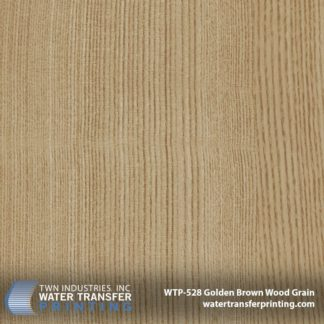 Golden Brown Wood Grain Hydro Dipping Film