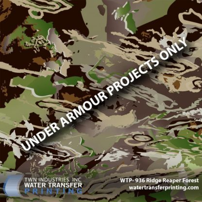 Ridge Reaper Forest Hydrographic Film