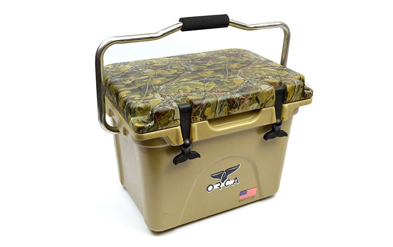 Orca Coolers dipped in Monster Camo