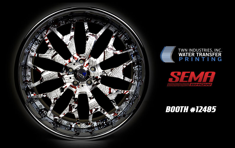 Visit Water Transfer Printing at SEMA 2017