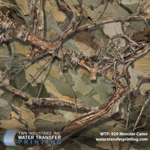Monster Camo Hydrographic Film