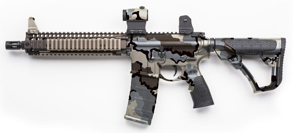 Automatic Rifle Dipped in Kuiu Vias
