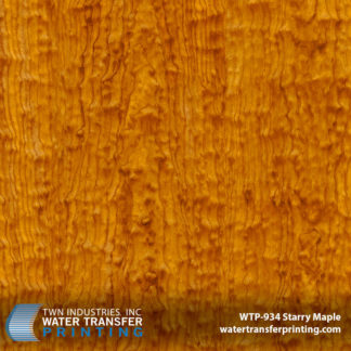 Starry Maple Hydrographic Film