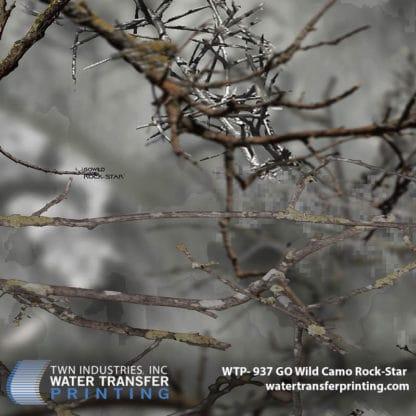 Hydrographic Film: WTP-937 GO Wild Rock-Star
