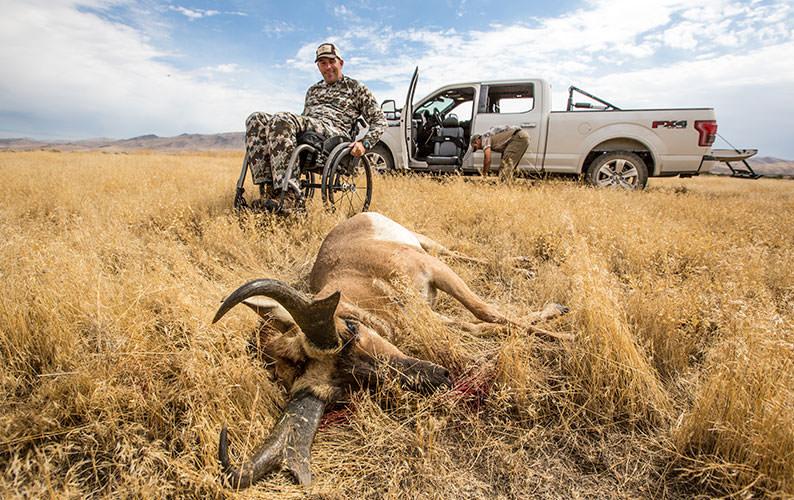 Wonrate Gear: Nevada Outdoorsmen in Wheelchairs
