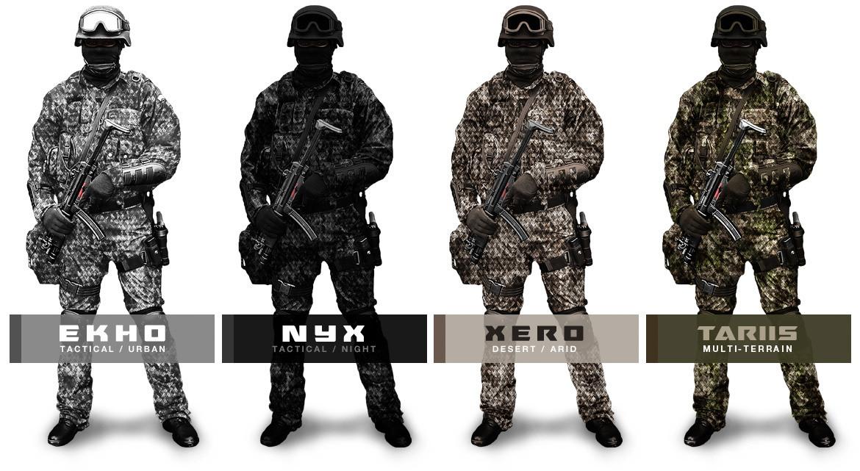 Virtus Camouflage Apparel