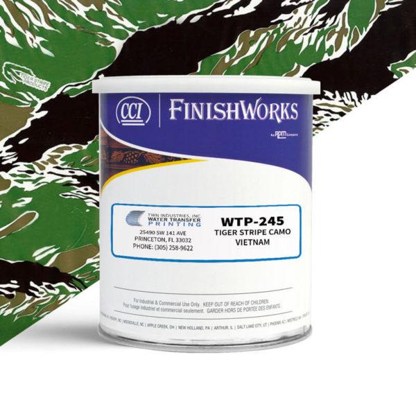 Hydrographic Paint: WTP-245 Tiger Stripe Vietnam   CCI Paint