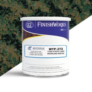 Hydrographic Paint: WTP-272 Tiger Stripe Woodland Digital | CCI Paint