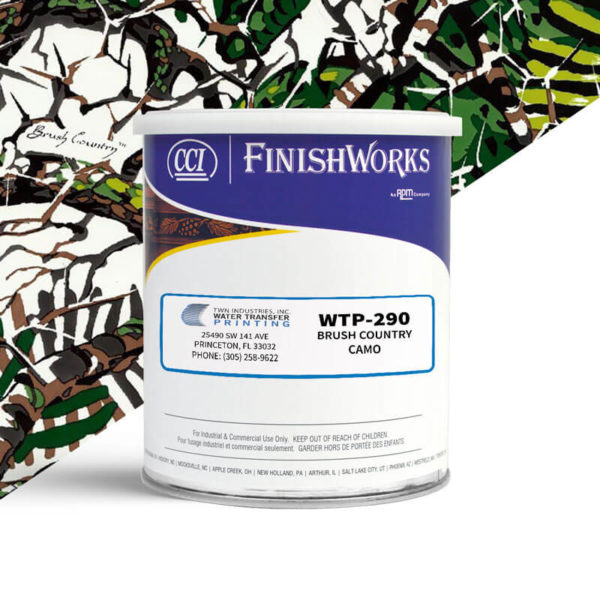 Hydrographic Paint: WTP-290 Brush Country Camo | CCI Paint