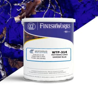 Hydrographic Paint: WTP-314 Mothwing Gameday Blue | CCI Paint