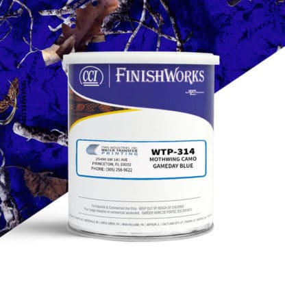 Hydrographic Paint: WTP-314 Mothwing Gameday Blue   CCI Paint