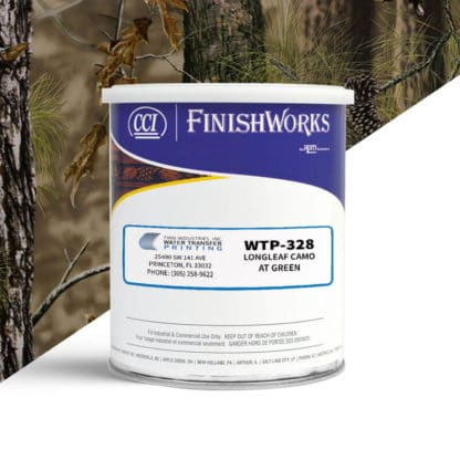 Hydrographic Paint: WTP-328 Longleaf Camo AT Green | CCI Paint