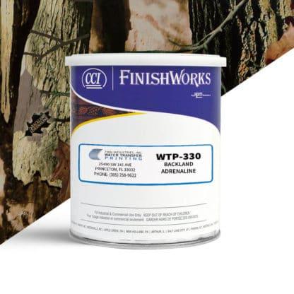 Hydrographic Paint: WTP-330 Backland Adrenaline   CCI Paint