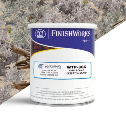 Hydrographic Paint: WTP-366 King's Desert Shadow | CCI Paint
