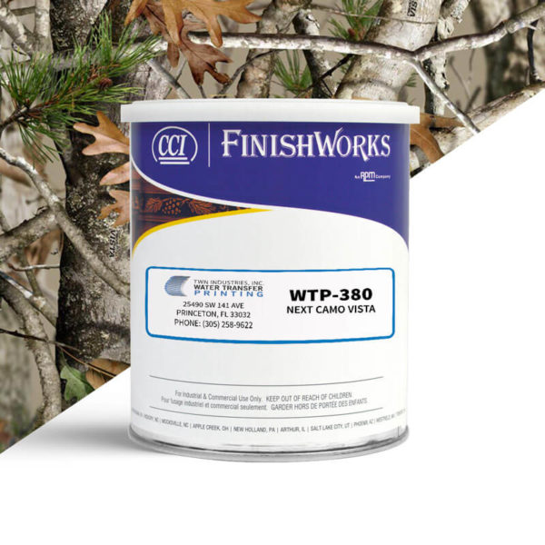 Hydrographic Paint: WTP-380 Next Camo Vista   CCI Paint