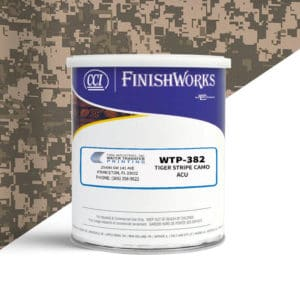 Hydrographic Paint: WTP-382 Tiger Stripe ACU | CCI Paint