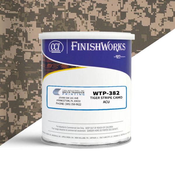 Hydrographic Paint: WTP-382 Tiger Stripe ACU | CCI Paint