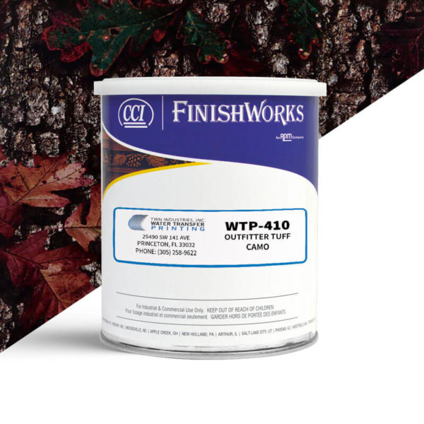 Hydrographic Paint: WTP-410 Outfitter Tuff Camo | CCI Paint