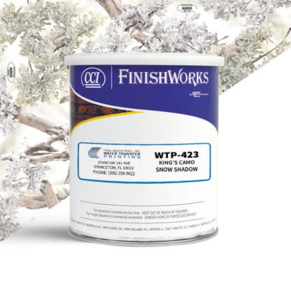 Hydrographic Paint: WTP-423 King's Snow Shadow | CCI Paint