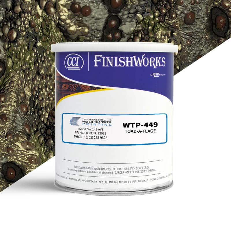 cci paint wtp 449 toad a flage hydrographic paint by twn