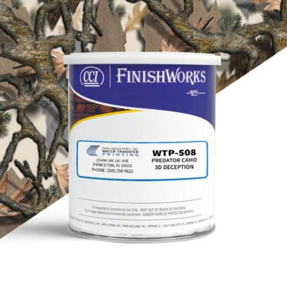 Hydrographic Paint: WTP-508 Predator Camo 3D Deception | CCI Paint
