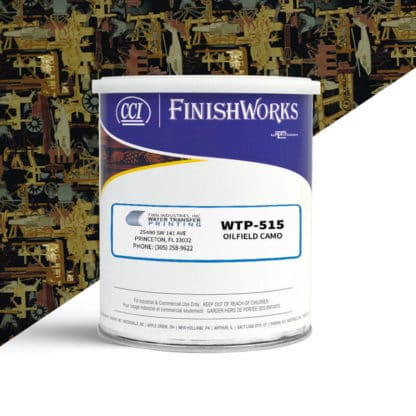 Hydrographic Paint: WTP-515 Oilfield camo | CCI Paint