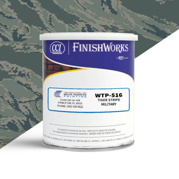 Hydrographic Paint: WTP-516 Tiger Stripe-Military Tiger Stripe | CCI Paint