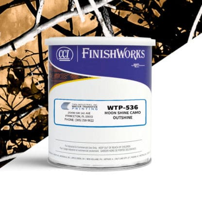 Hydrographic Paint: WTP-536 Moon Shine Camo Outshine | CCI Paint
