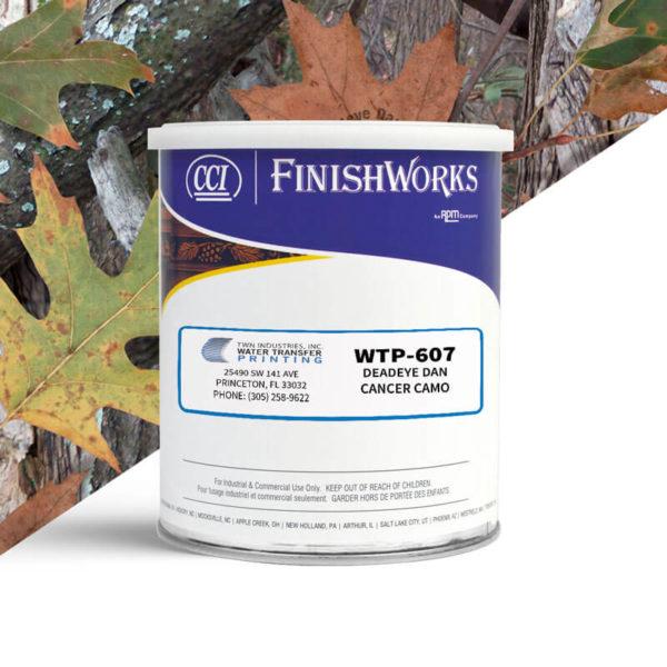 Hydrographic Paint: WTP-607 Deadeye Dan Cancer Camo   CCI Paint