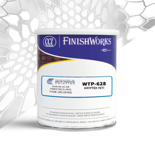 Hydrographic Paint: WTP-628 Kryptek Yeti | CCI Paint