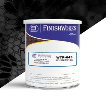Hydrographic Paint: WTP-645 Kryptek Typhon   CCI Paint